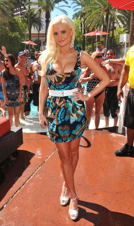 Holly Madison At Flamingo Las Vegas Go Pool