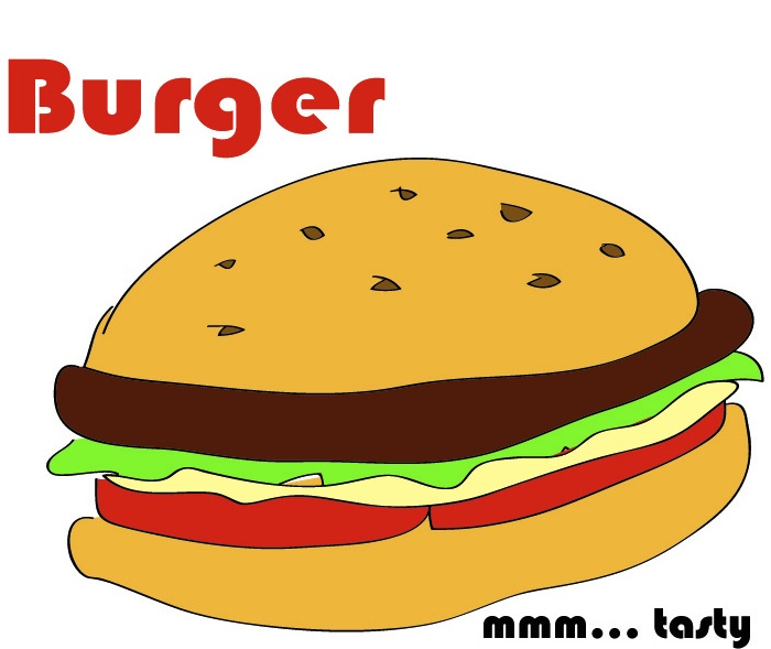Cheeseburger Cartoon