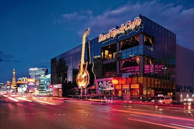 Hard Rock Cafe On The Strip Las Vegas