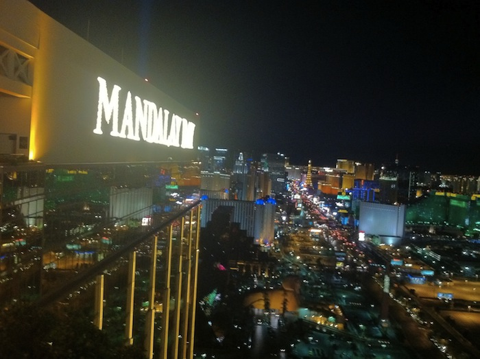 View From Foundation Room At Mandalay Bay Las Vegas