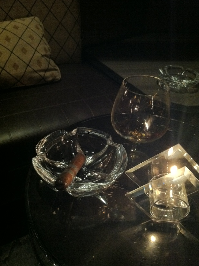 Cigar And Cognac At Andre's At Monte Carlo
