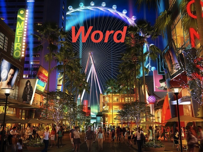 "High Roller at Linq Las Vegas Sponsored By ""Word"""