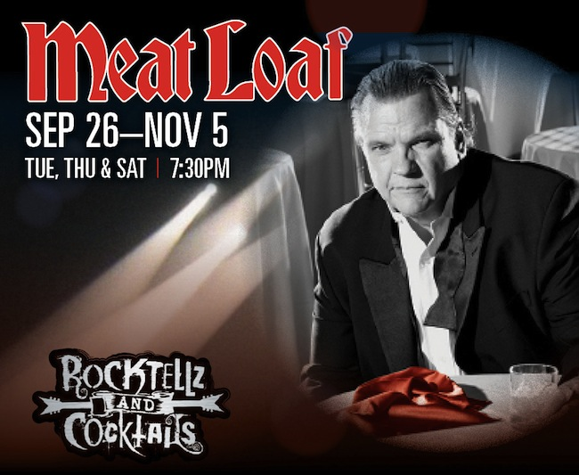 Meatloaf Residency At Planet Hollywood 20% Off