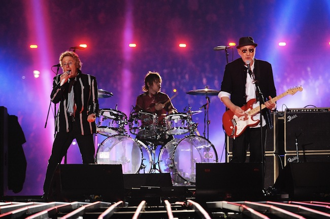 The Who Performing At Super Bowl XLIV
