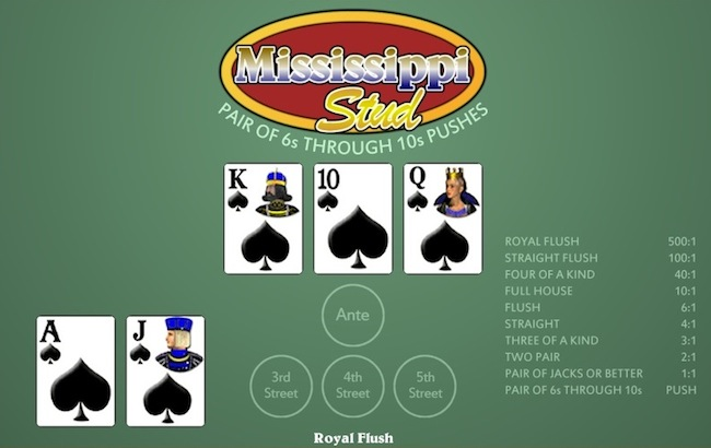 Mississippi Stud Poker Is Your Next Popular Casino Game