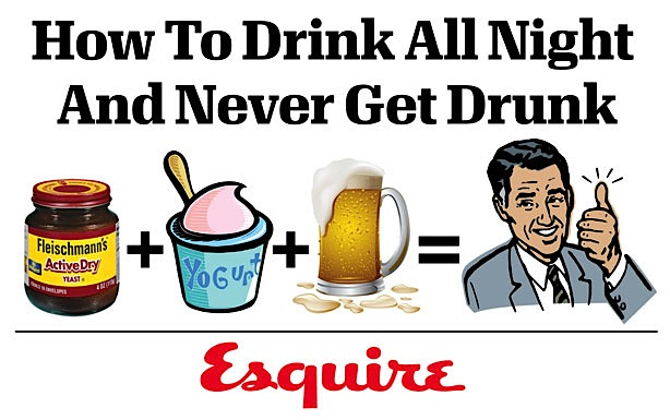 Drink All Night Image From Esquire
