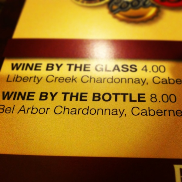 $8 Bottles Of Wine At Suncoast Casino Las Vegas