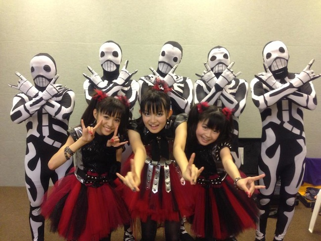 BABYMETAL Performing At MGM Grand Las Vegas