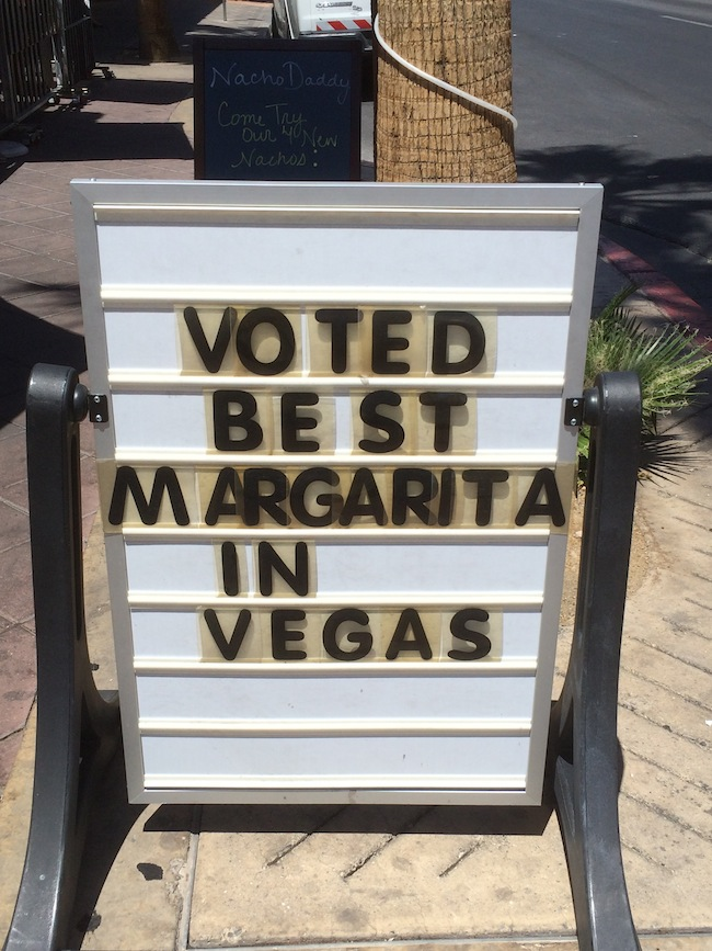 Best Margarita In Vegas At Nacho Daddy Downtown Vegas
