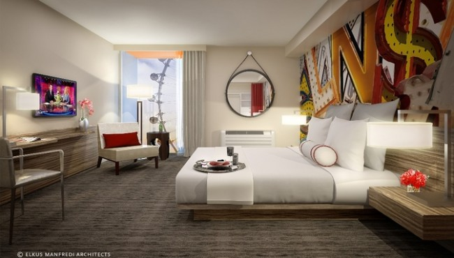 The Linq Hotel Room