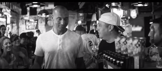 Derek Jeter Commercial at Stan's Bar In The Bronx, NY