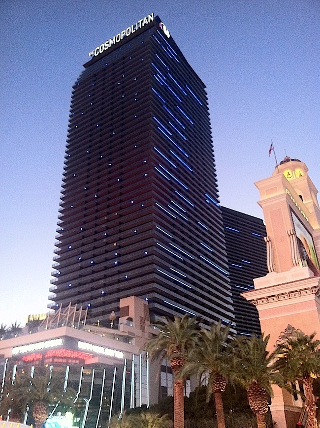 Cosmopolitan of Las Vegas At Dusk