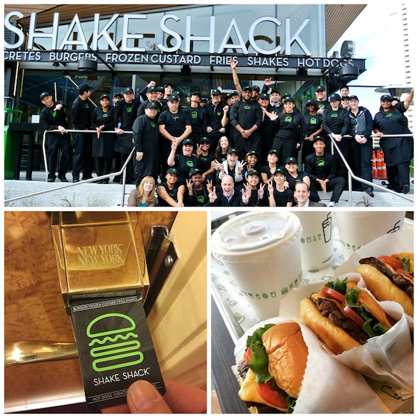Shake Shack Las Vegas at New York New York