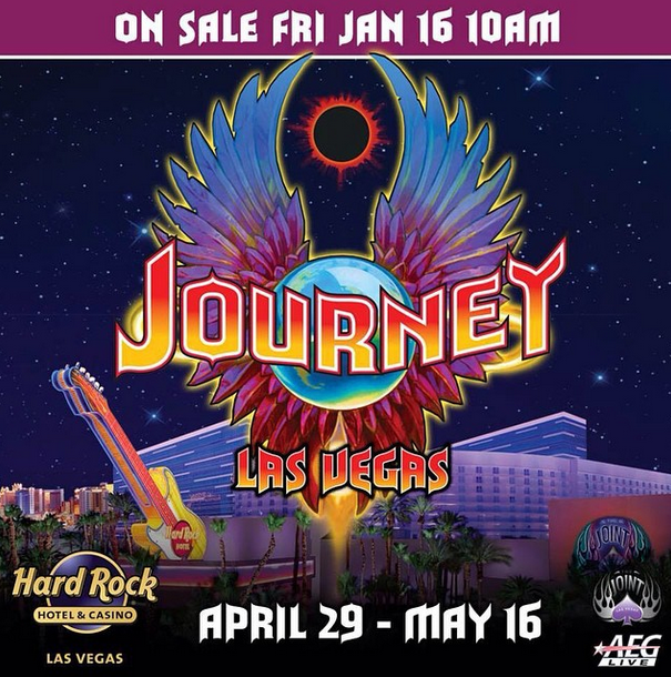 Journey Hard Rock Las Vegas Residency