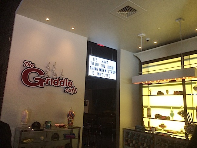 Griddle Cafe At SLS Las Vegas