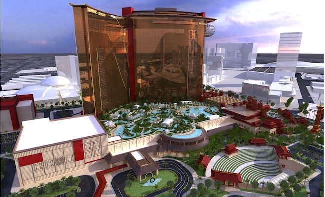 Current Resorts World Las Vegas Rendering