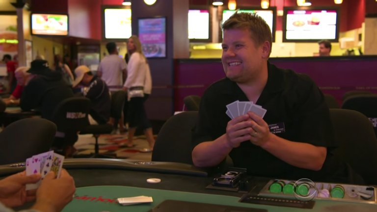 James Corden at Planet Hollywood Las Vegas