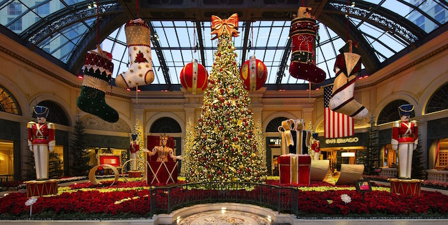 Bellagio Conservatory Christmas Display