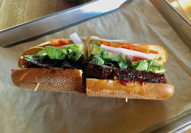 595 Craft And Kitchen Pork Belly Bahn Mi