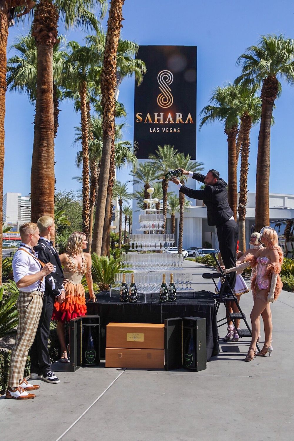 For the love of Vegas! Sahara Las Vegas announces resort-fee-free room rates