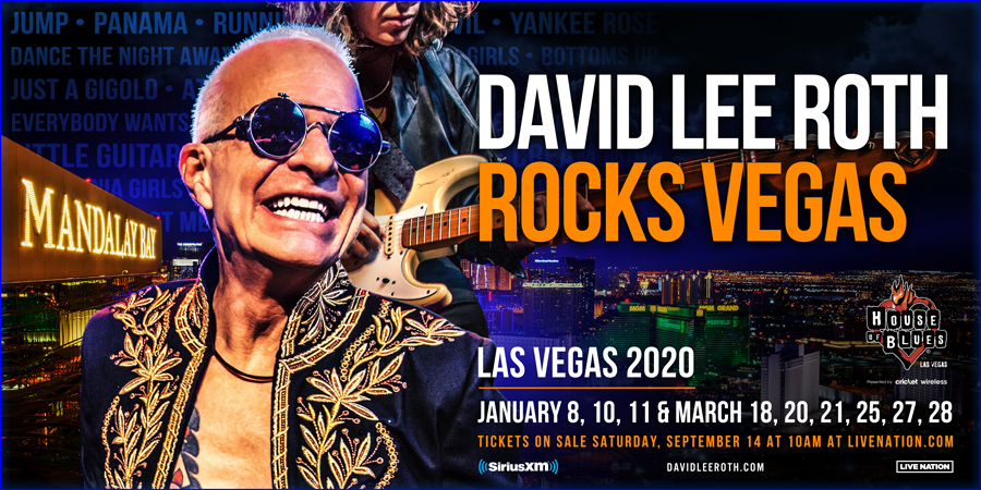 David Lee Roth Las Vegas