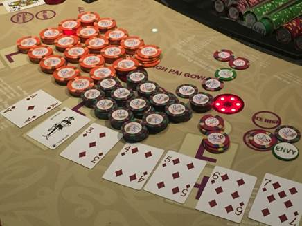 Record Pai Gow Poker Progressive Jackpot of $2.3 Million Hit at Paris Las Vegas