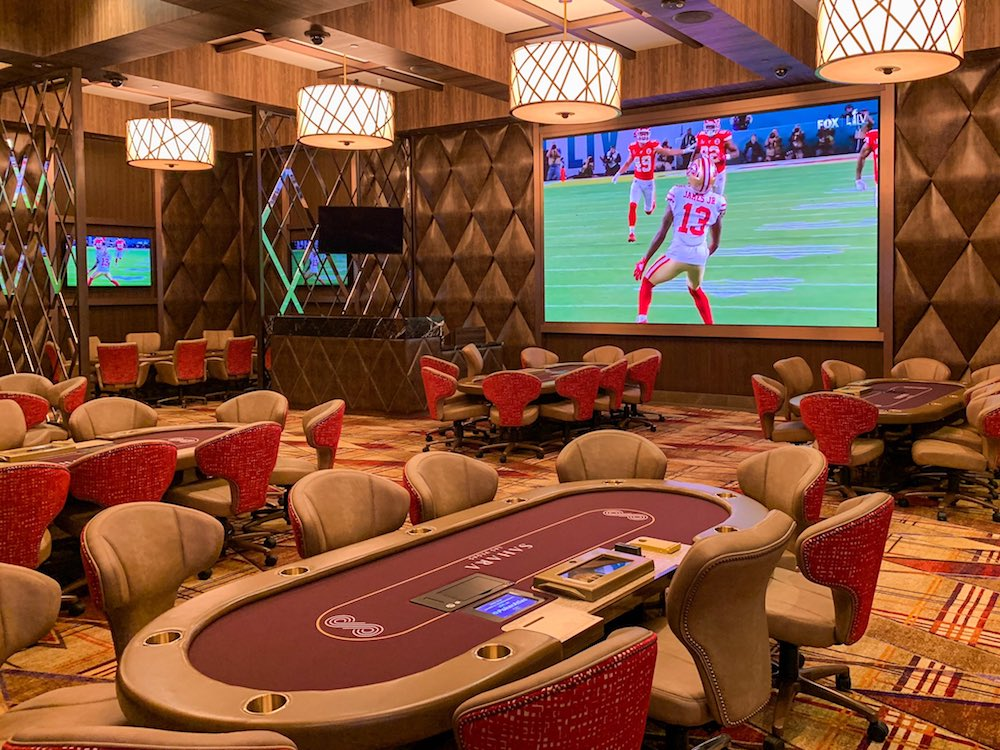 Sahara Poker Room