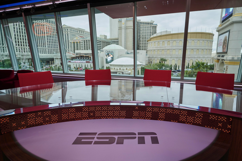 ESPN and Caesars Entertainment to Debut New State-of-the-Art Studio on Monday, Aug. 24