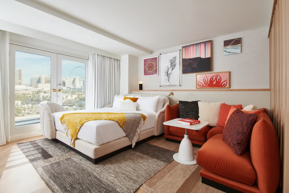Virgin Hotels Las Vegas, Curio Collection by Hilton Debuts Chambers and Suites Design