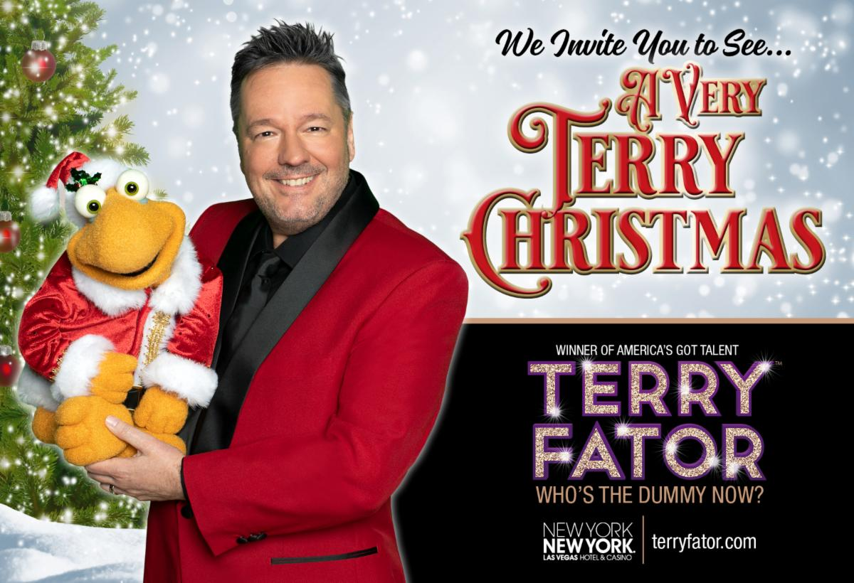 """Terry Fator is Bringing Holiday Cheer to Las Vegas with """"A Very Terry Christmas"""""""